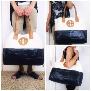 Tory Burch Bags - NWOT Tory Burch Extra Large Dipped Tote Carryall
